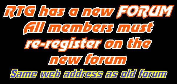 New Forum Banner